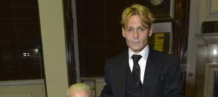 What do you think of Johnny Depp with blonde hair?