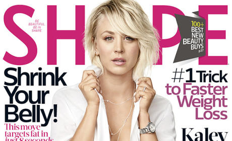 Kaley Cuoco-Sweeting Shape Cover
