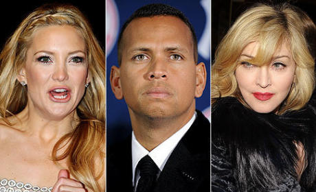 Did Madonna Come Between A-Rod & Kate Hudson?