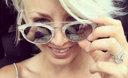 Kaley Cuoco-Sweeting Lightens Locks, Goes Platinum