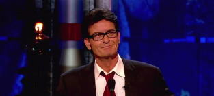 Charlie Sheen: Duh, Donating!