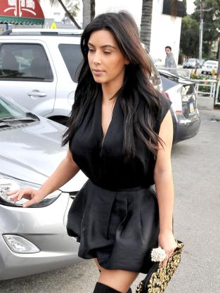 Kim Kardashian Fashion Mistake