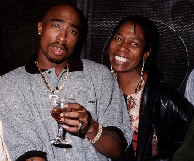 Afeni Shakur, Tupac Shakur