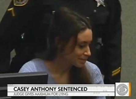 Casey Anthony at Sentencing