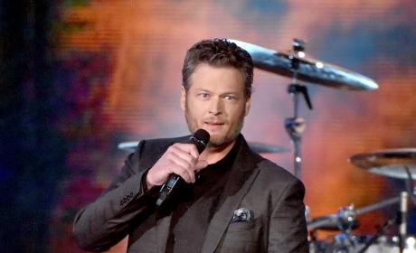 Blake Shelton Performs at The 51st Academy of Country Music Awards