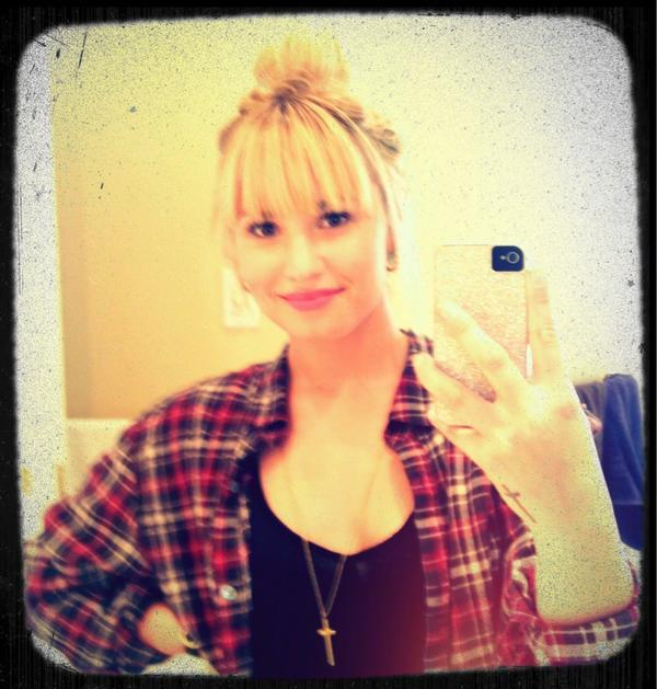 Demi Lovato Bangs