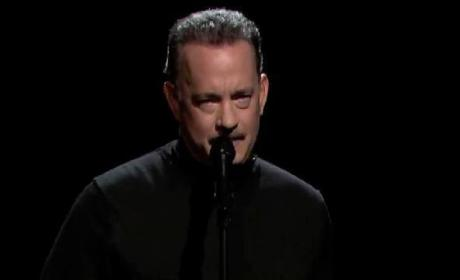 Tom Hanks Slam Poem: Actor Rips Full House Cast on Late Night
