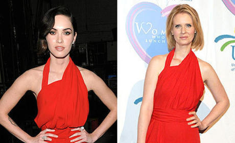 Fashion Face-Off: Megan Fox vs. Cynthia Nixon