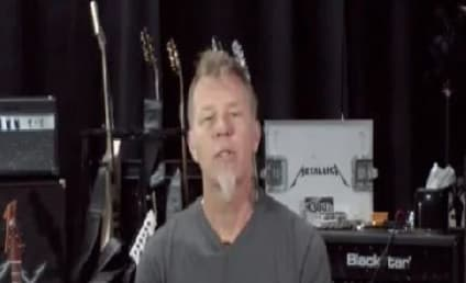 James Hetfield of Metallica Records PSA, Offers Reward to Help Find Fan's Killer
