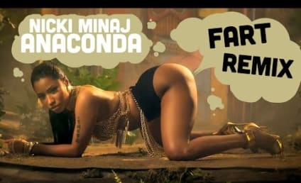 "Nicki Minaj ""Anaconda"" Video: Now Full of Farts!"