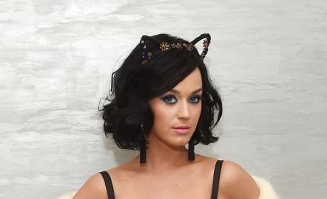 Katy Perry At Launch For CoverGirl Collection