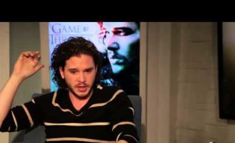 Kit Harington Talks Game of Thrones Season 4