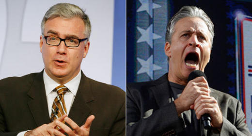 Keith Olbermann vs. Stewart