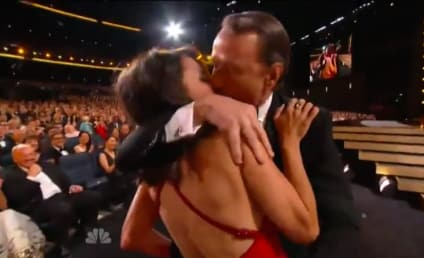 Bryan Cranston Makes Out with Julia Louis-Dreyfus in Ultimate Emmys Moment