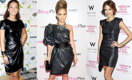 THG Trend Watch: The Black Leather Dress