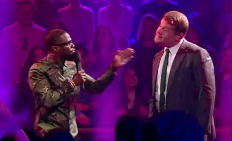 James Corden vs. Kevin Hart: It. Is. ON!