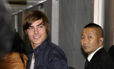 Zac Efron Speaks! Cutie Talks About High School Musical, Vanessa Hudgens