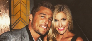 Chris Soules and Whitney Bischoff Photograph
