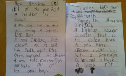 Kid's Insane Letter to Santa Gets Hilarious Response From Dad, Goes Viral