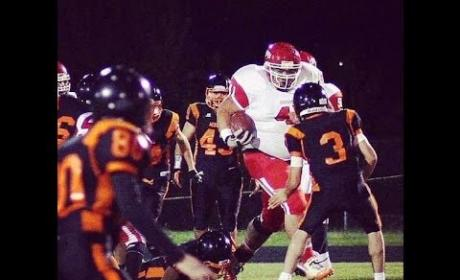Tony Picard, 400-Pound Running Back, Runs Wild