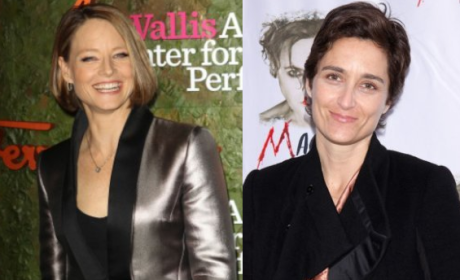 Alexandra Hedison, Jodie Foster Married!