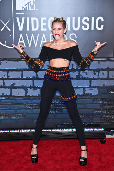 Miley Cyrus VMA Fashion Choice