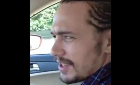 "James Franco Sings ""Love You Like a Love Song"" to Selena Gomez"
