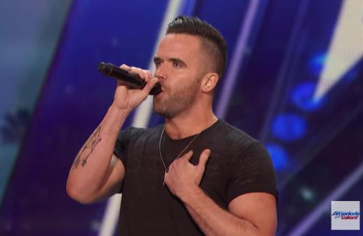 Brian Justin Crum gets standing ovation with Somebody To