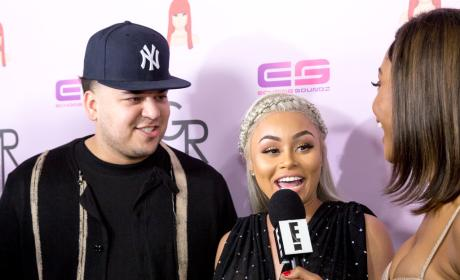 Rob Kardashian Speaks (!!!) on Blac Chyna Pregnancy