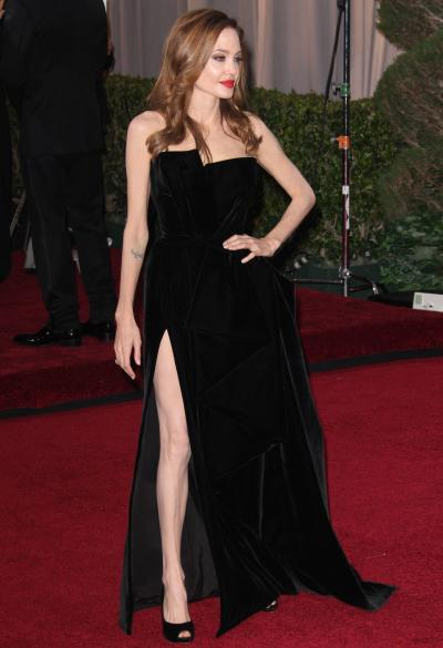 Angelina Jolie at the Oscars