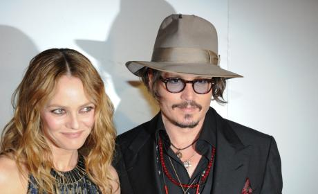 "Vanessa Paradis Defends Johnny Depp as ""Sensitive, Loving"""