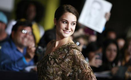 Shailene Woodley at Divergent Premiere