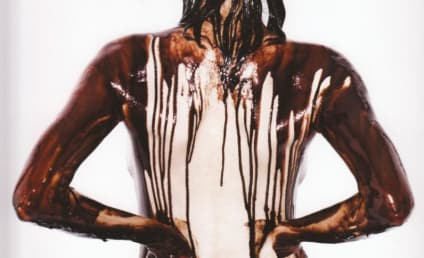 Heidi Klum: Nude, Chocolate-Covered