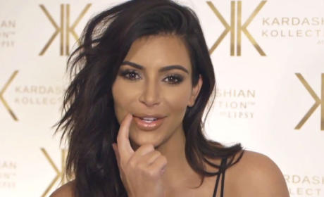 Kim Kardashian Talks Beauty, Fashion