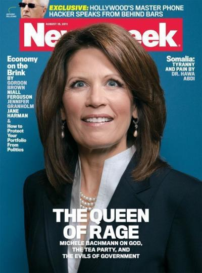 Michelle Bachmann Newsweek Cover