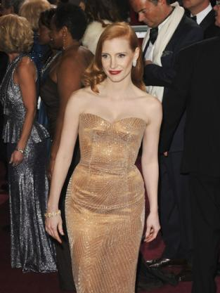 Jessica Chastain Oscars Dress