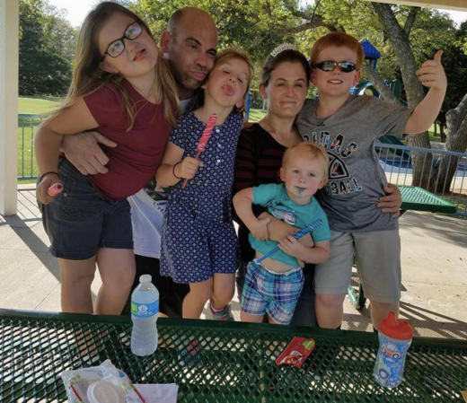 Brianne Muller and Family Photo