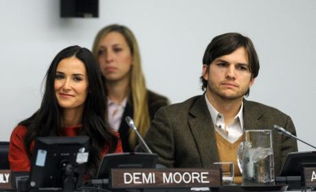 Ashton Kutcher and Demi Moore Fight Human Trafficking