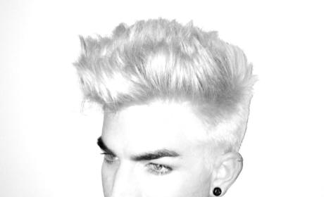Adam Lambert Goes Blonde, Teases Tour