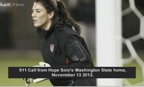 Hope Solo 911 Call: Stun Gun! Booze! Blood! Fighting!