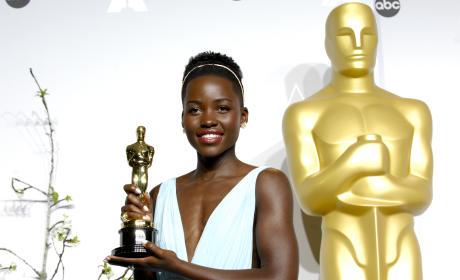 Lupita Nyong'o as a Winner
