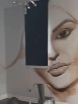 Kylie Jenner's Mural