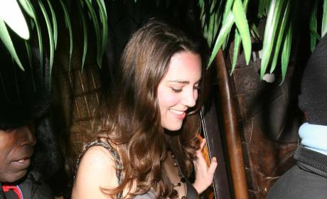 Kate Middleton Parties at Mahiki in February 2007