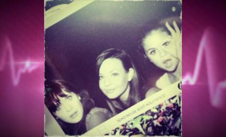 Selena Gomez and Zooey Deschanel: Ladies Being Ladies Night!
