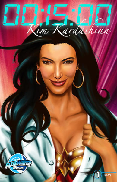 Kim Kardashian Comic Book Cover