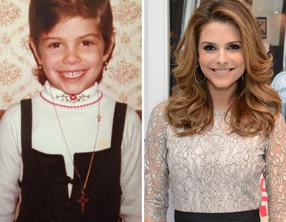 Maria Menounos as a Kid