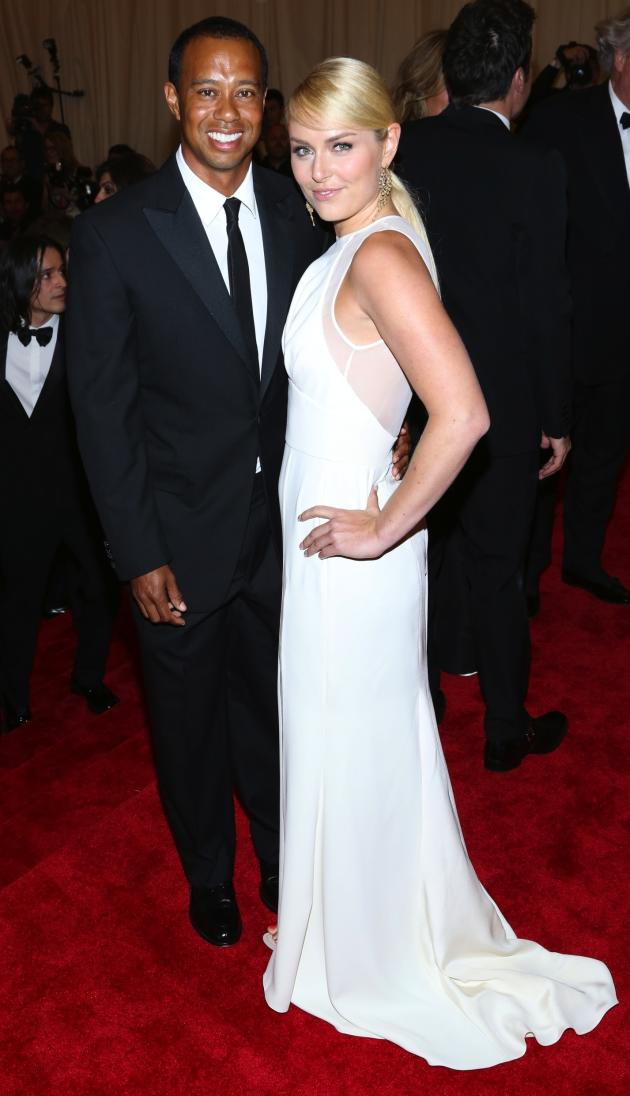 Tiger Woods and Lindsey Vonn Picture