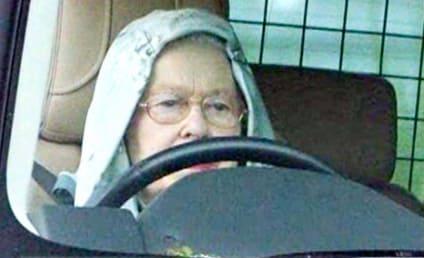 Queen Wears Hoodie, Rolls Out in Style