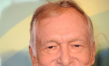 Hugh Hefner on Not Marrying Crystal Harris: Phew!