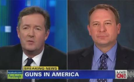 Gun Advocates Petition U.S. to Deport Piers Morgan